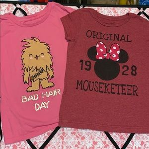 Disney and Star Wars t shirt bundle